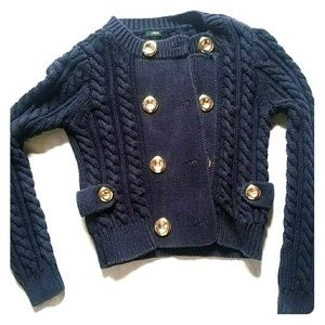 Heavy Button Up Sweater